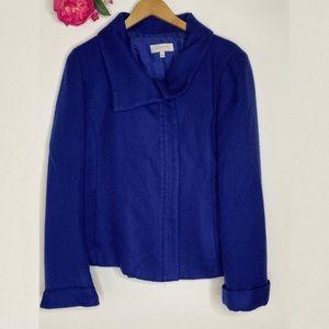 Talbot's Cobalt Blue Zipfront Jacket 14